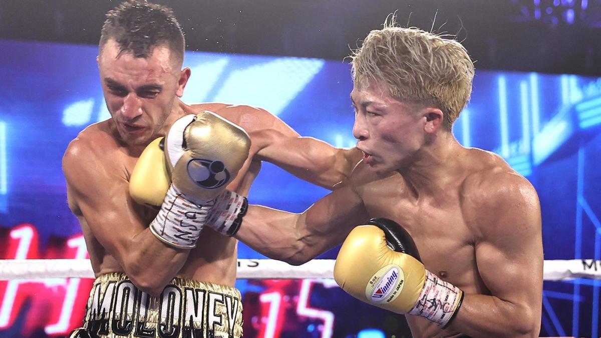 WATCH: Naoya Inoue scores blistering seventh-round knockout of Jason Moloney in Las Vegas - CBS Sports