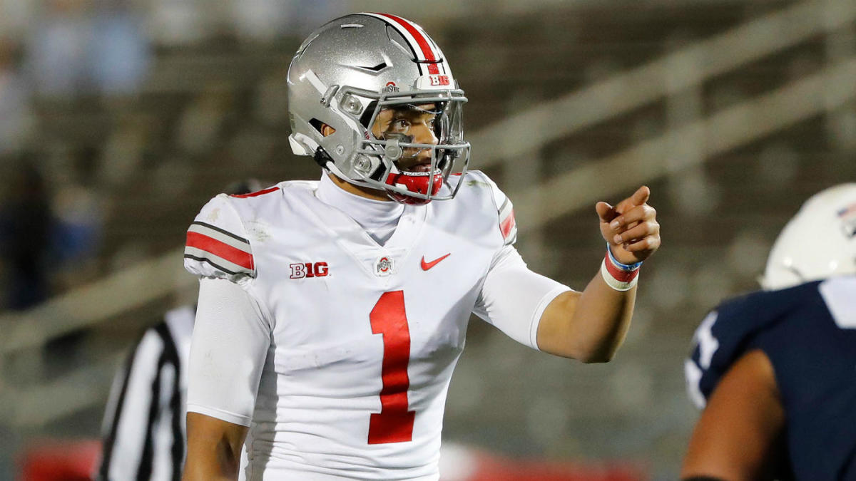 2021 NFL Draft QB Watch: Justin Fields makes push for No ...