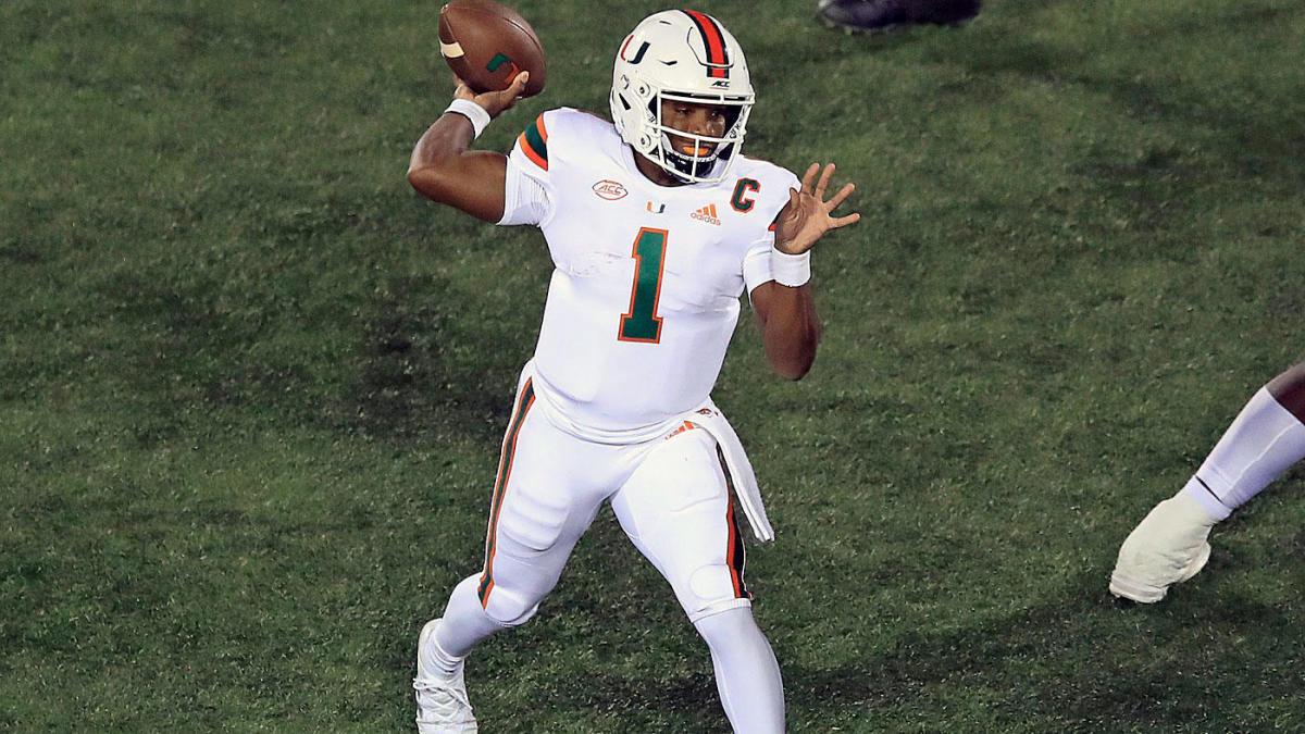 Miami Vs Virginia Tech Prediction Pick Odds Point Spread Live Stream Tv Channel Football Game Lines Cbssports Com
