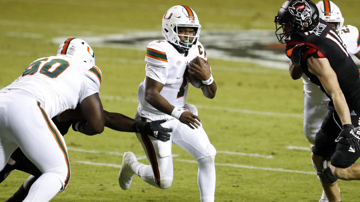 Miami vs. NC State score: D'Eriq King puts on a show in leading No. 11 Hurricanes back to avoid upset