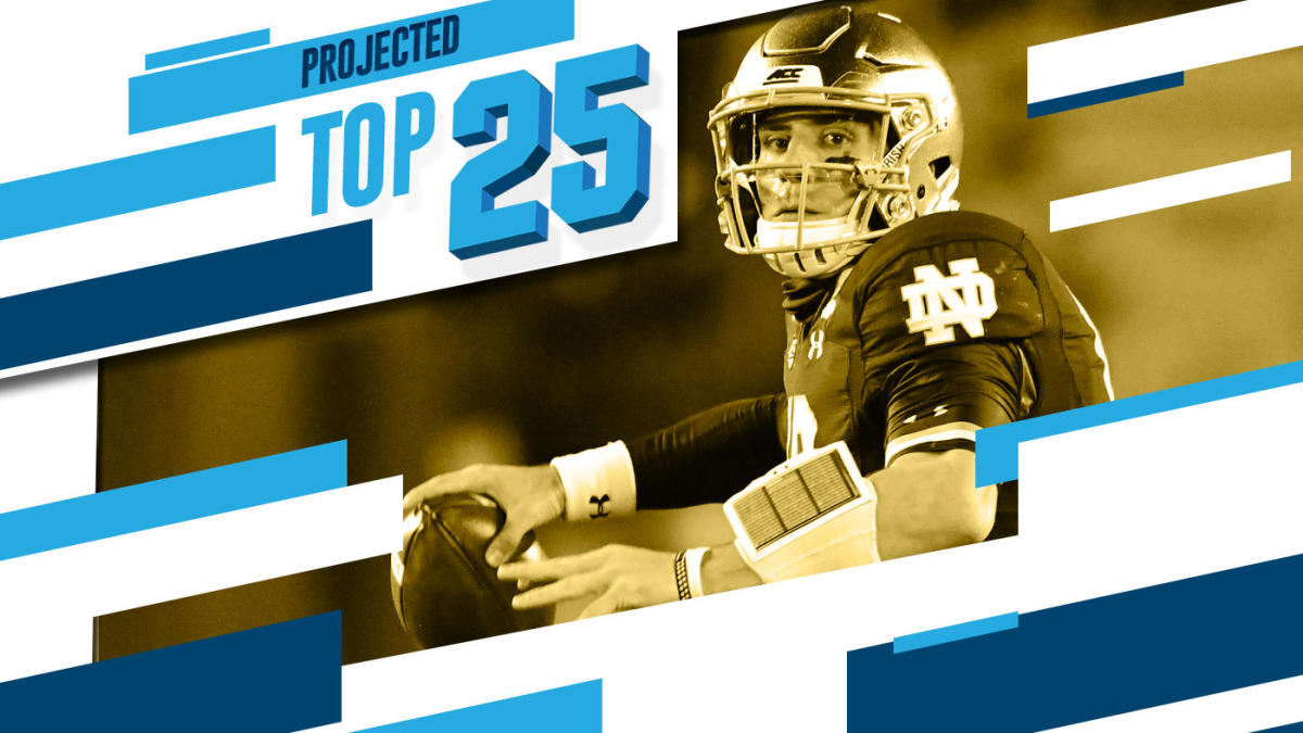 Tomorrow S Top 25 Today Alabama Notre Dame Become Top Two Teams In New College Football Rankings Cbssports Com