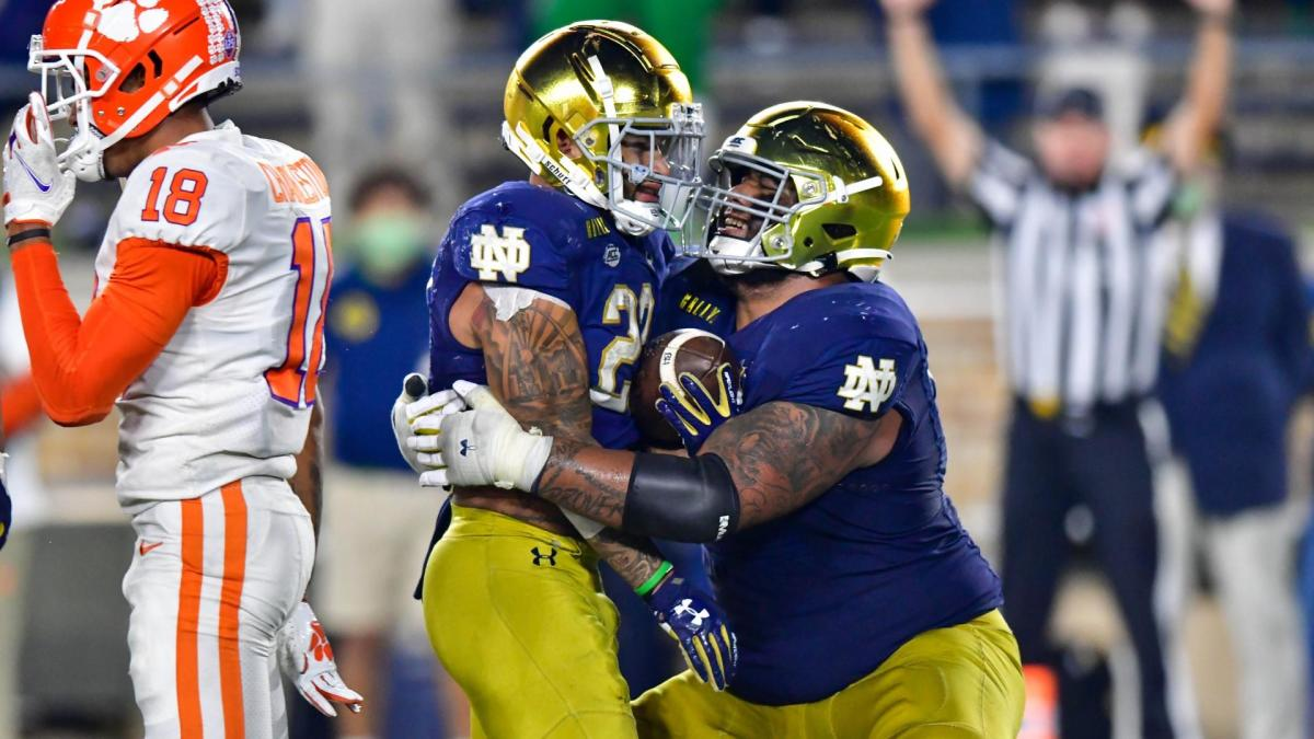 AP Top 25 poll: Alabama, Notre Dame stand as top two with college football rankings shaken up