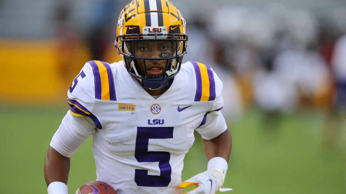 LSU WR Koy Moore says Baton Rouge police 'violated him' in search for a weapon on Saturday night