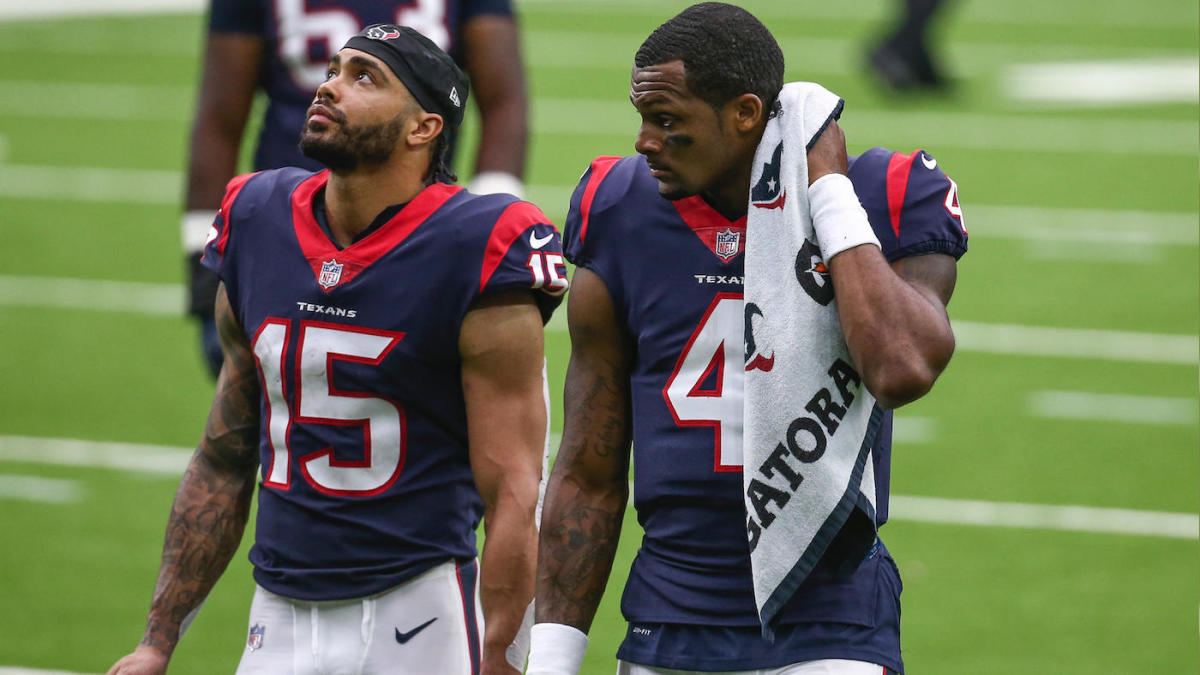 Deshaun Watson On Texans Shopping Will Fuller Ahead Of Nfl Trade Deadline It Would Ve Been Hell Cbssports Com