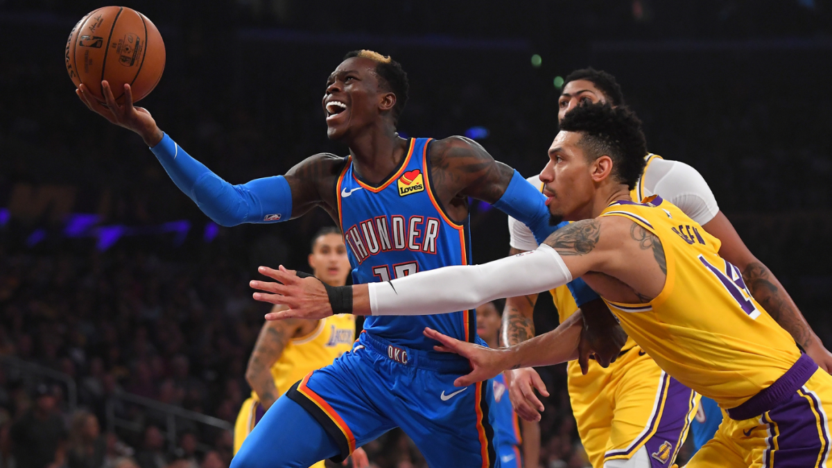 Lakers set to acquire Dennis Schroder and send Danny Green to OKC in trade  with Thunder, per report - CBSSports.com