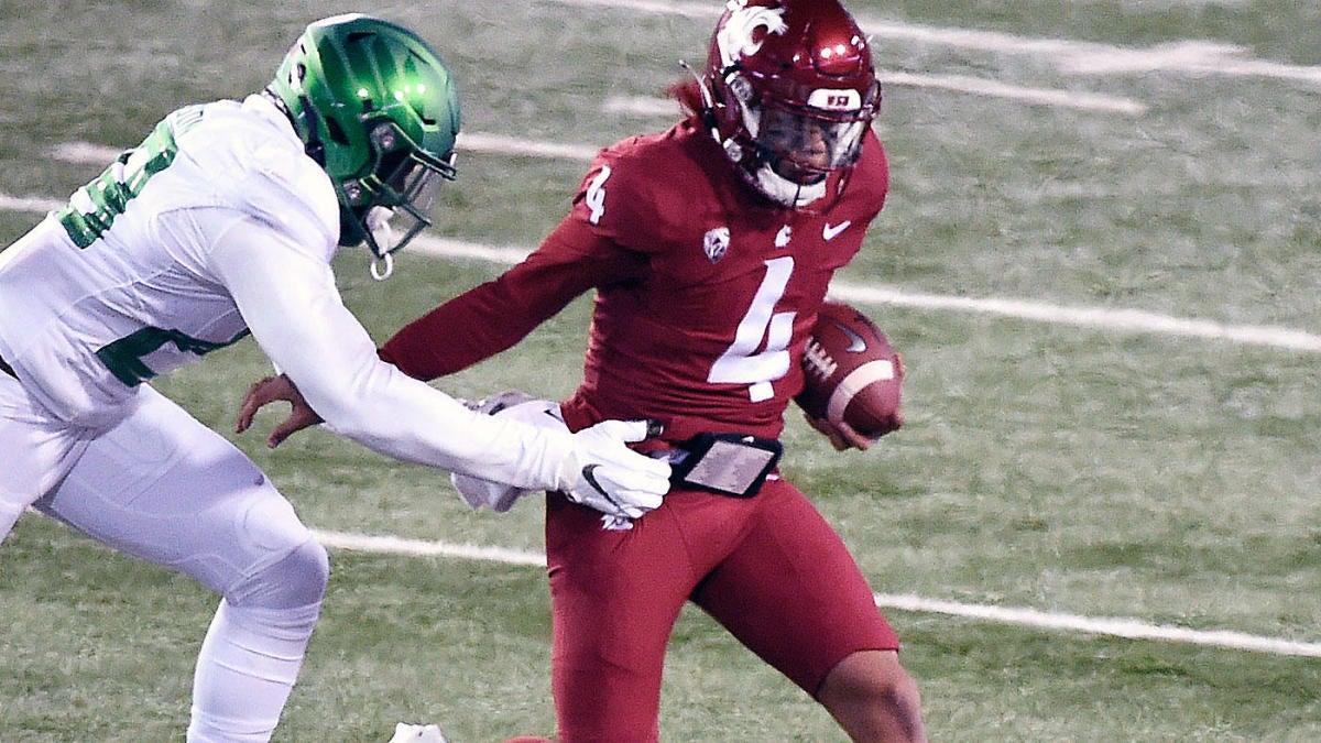 Washington State quarterback Jayden de Laura tests positive for COVID-19, won't play vs. Stanford, per report