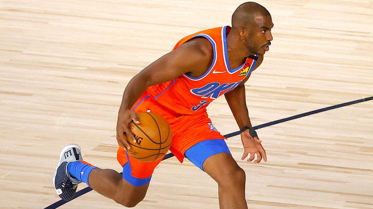 Thunder trade Chris Paul to Suns in deal including Kelly Oubre, Ricky Rubio, 2022 first-round pick