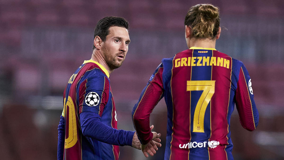 Lionel Messi blasts Antoine Griezmann's uncle over Barca drama: 'I'm tired  of always being everyone's problem' - CBSSports.com