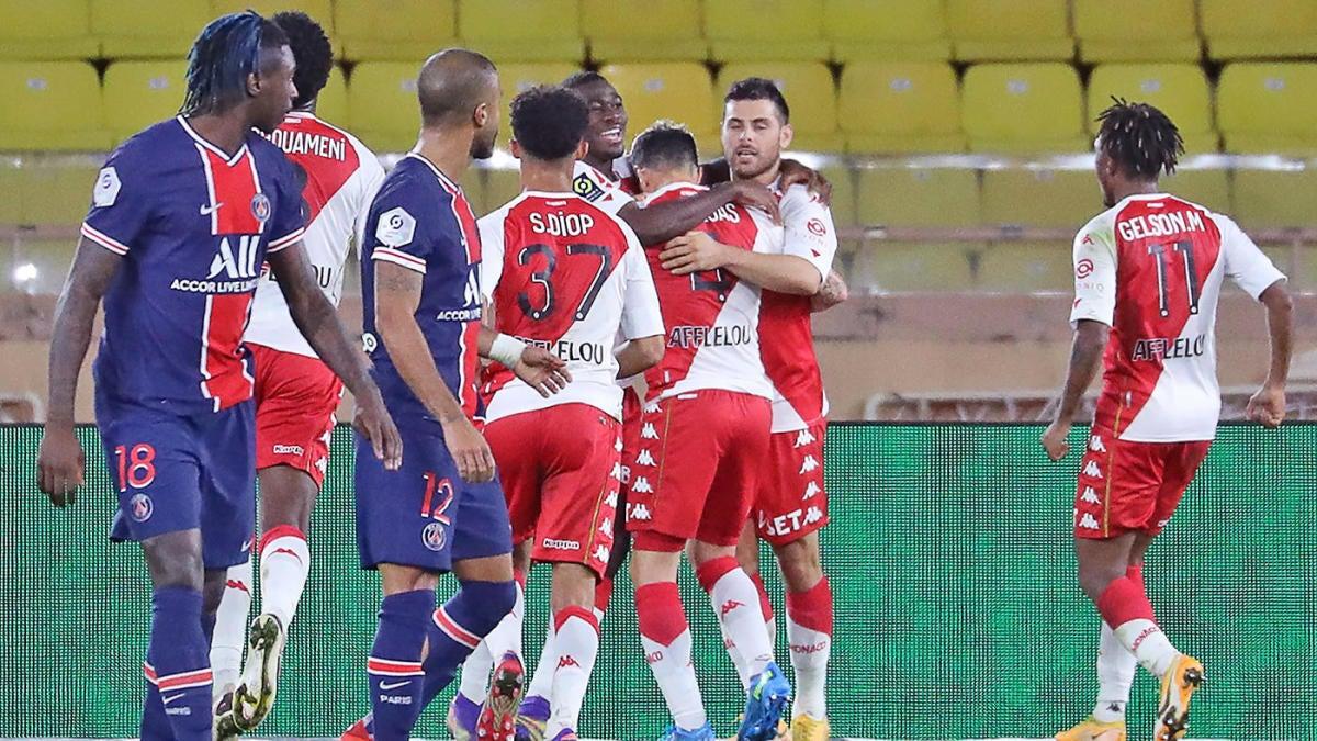PSG vs. Monaco score: Cesc Fabregas, Kevin Volland lead improbable comeback win  over Kylian Mbappe's Parisians - CBSSports.com