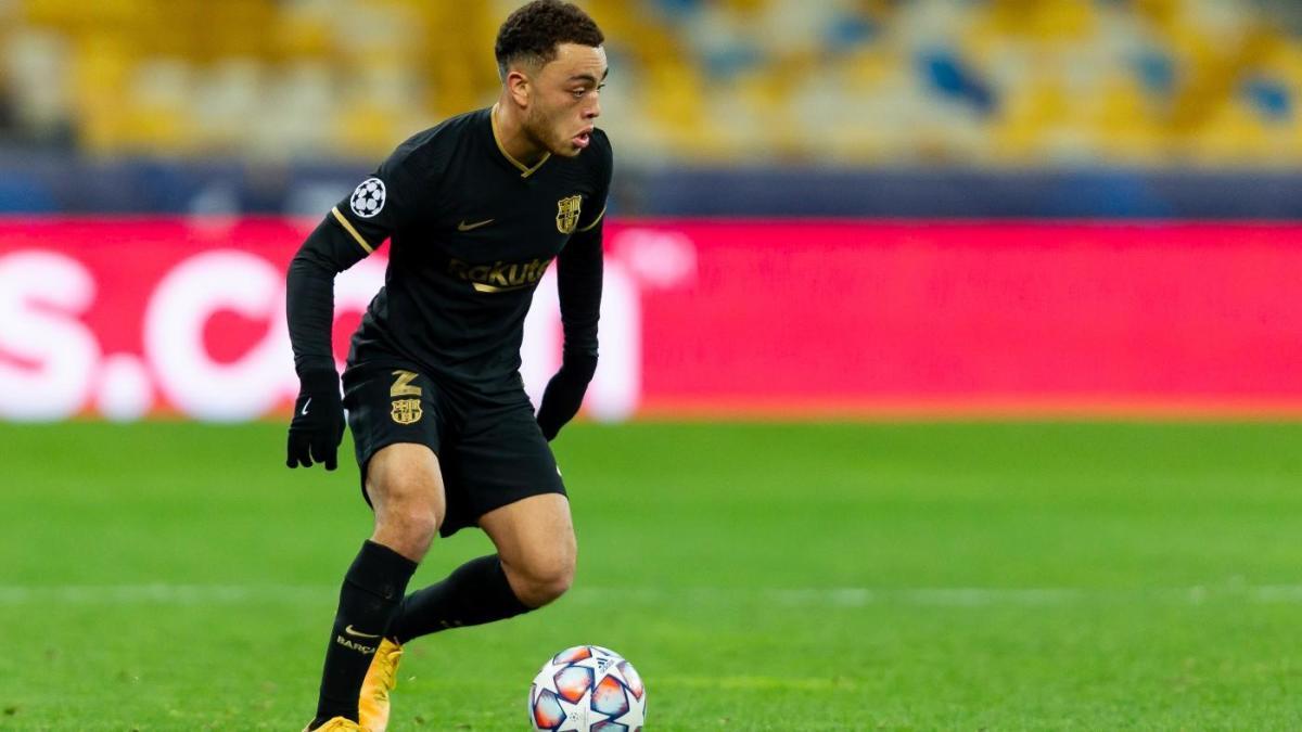 FC Barcelona vs. Dynamo Kiev score: Americans Dest and Konrad de la Fuente  make history in Barca romp - CBSSports.com