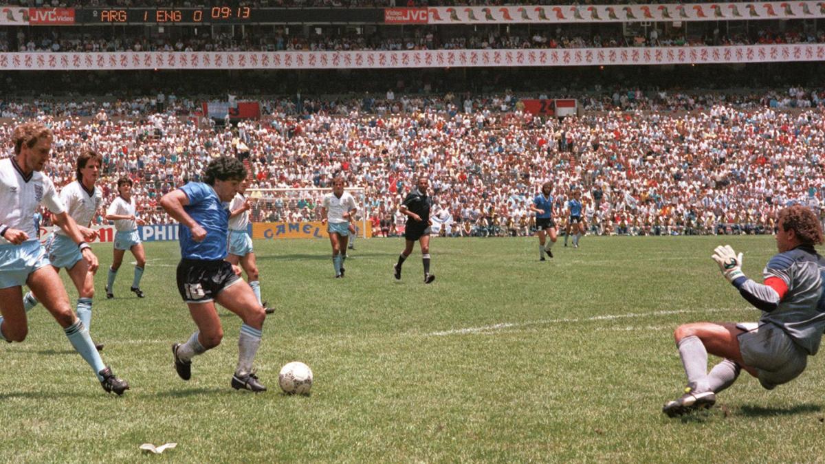 Diego Maradona's greatest goal: Watch the Argentine supersta