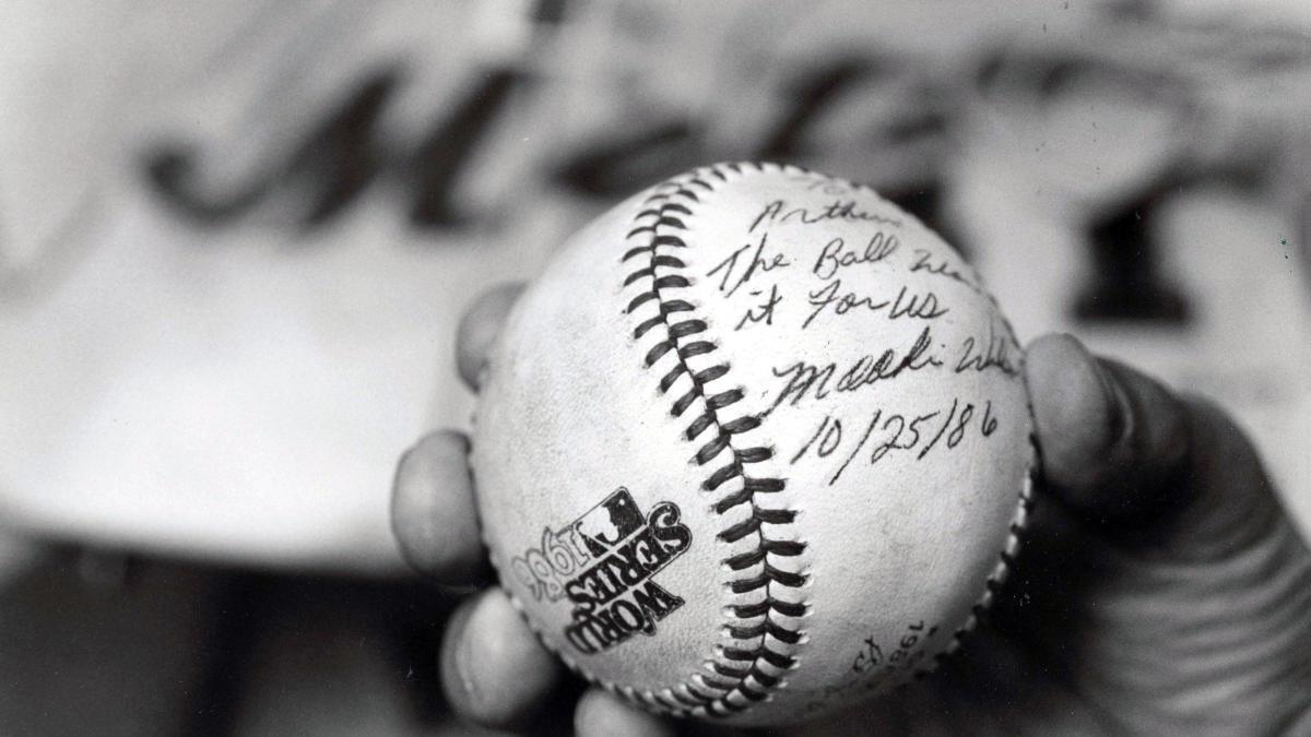 Mets owner Steve Cohen reveals he owns Bill Buckner baseball from 1986 World Series