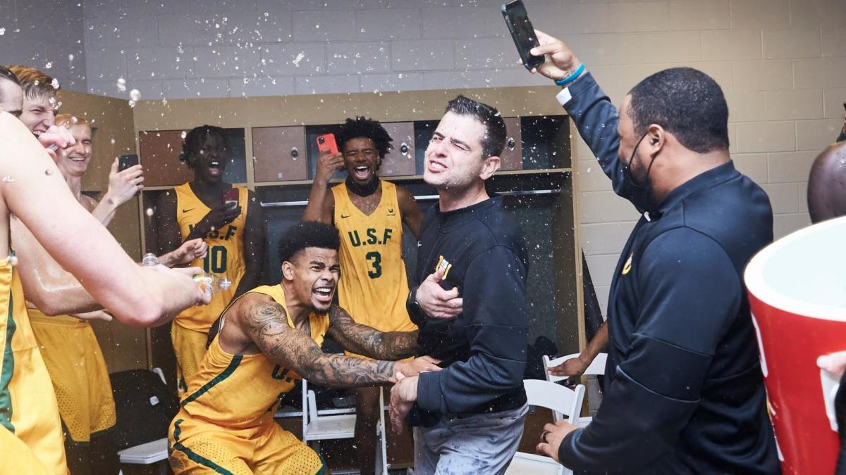San Francisco pulls off first stunner of season with upset of No. 4 Virginia, winner of last NCAA Tournament