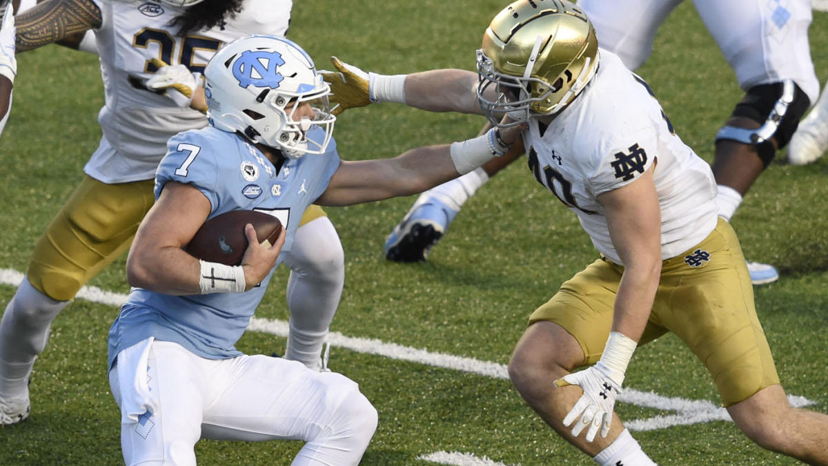 Notre Dame vs. North Carolina score takeaways: Defense steps up for No. 2 Irish in win over No. 19 Tar Heels – CBSSports.com