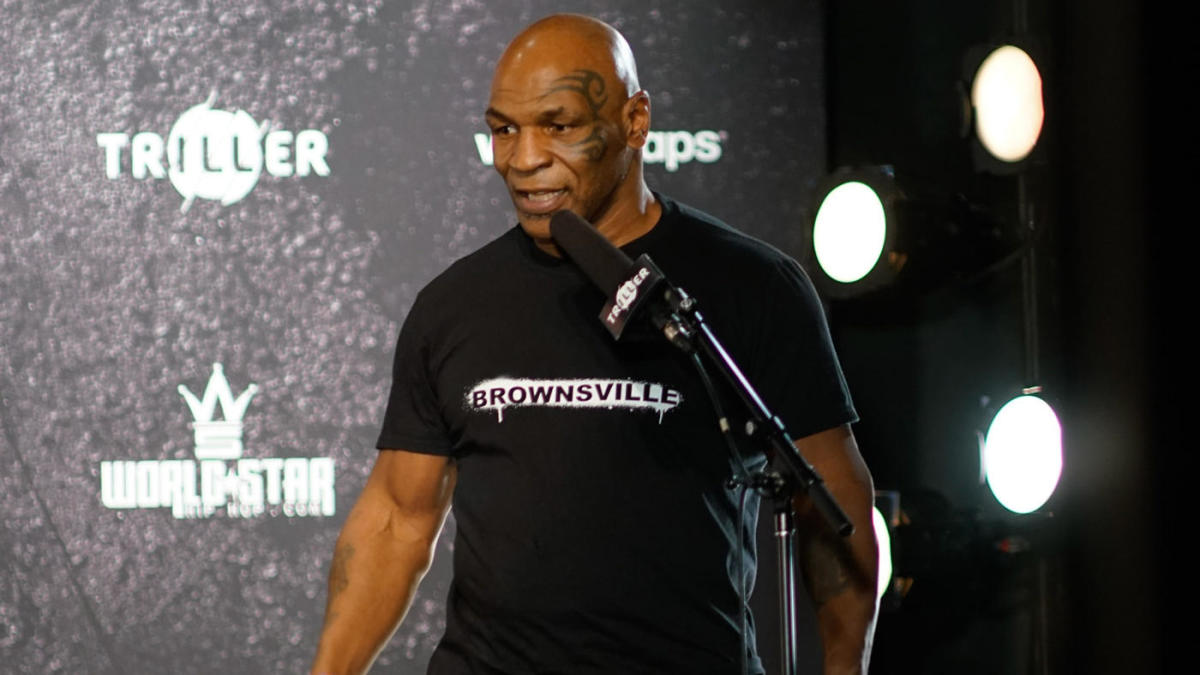 LOOK: Mike Tyson honored with 10-foot statue at Resorts World in Las Vegas