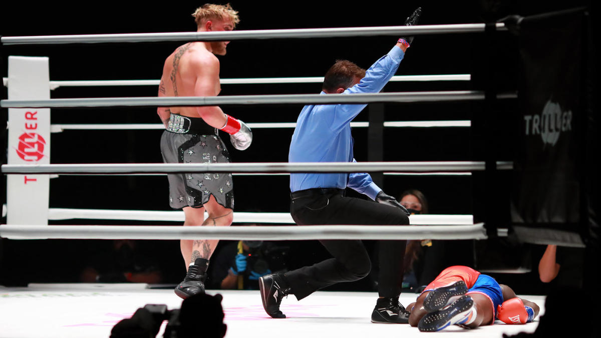 Jake Paul vs. Nate Robinson fight results, highlights ...