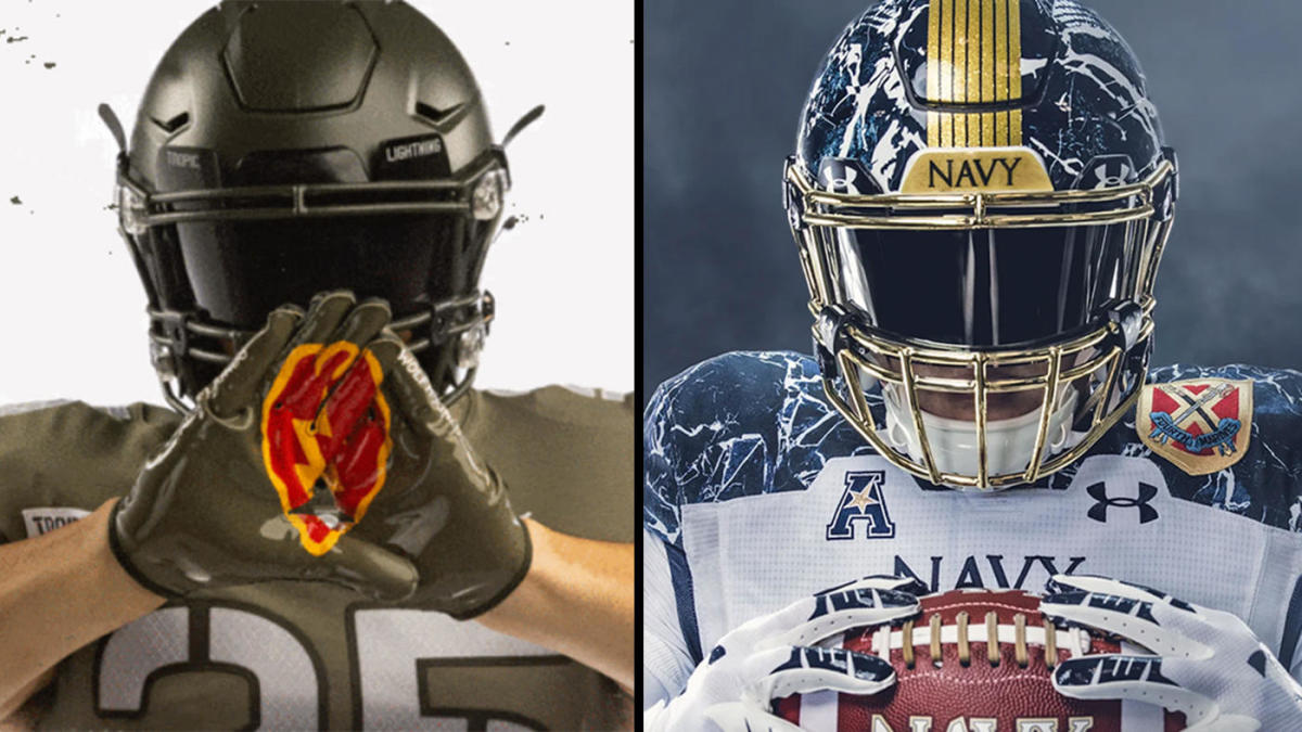 2020 Army Vs Navy Game Special Uniforms For 121st Rivalry Meeting Between Black Knights Midshipmen Cbssports Com