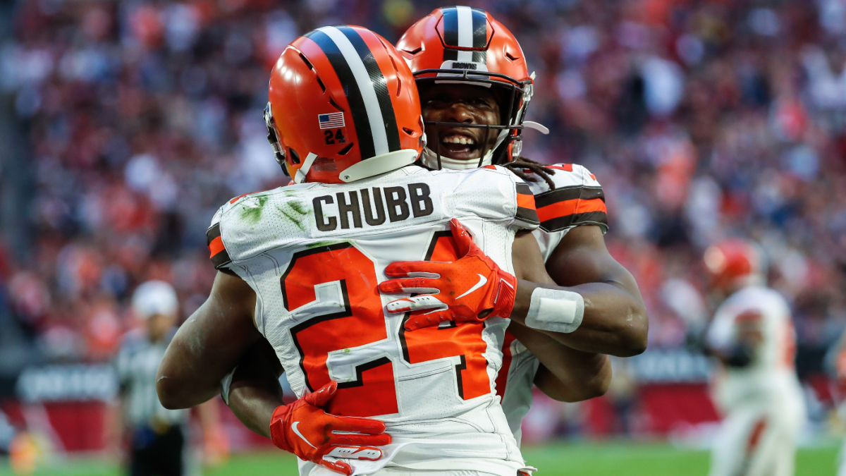 Browns' Nick Chubb, Kareem Hunt trying to join this list of teammates to rush for 1,000 yards in same season