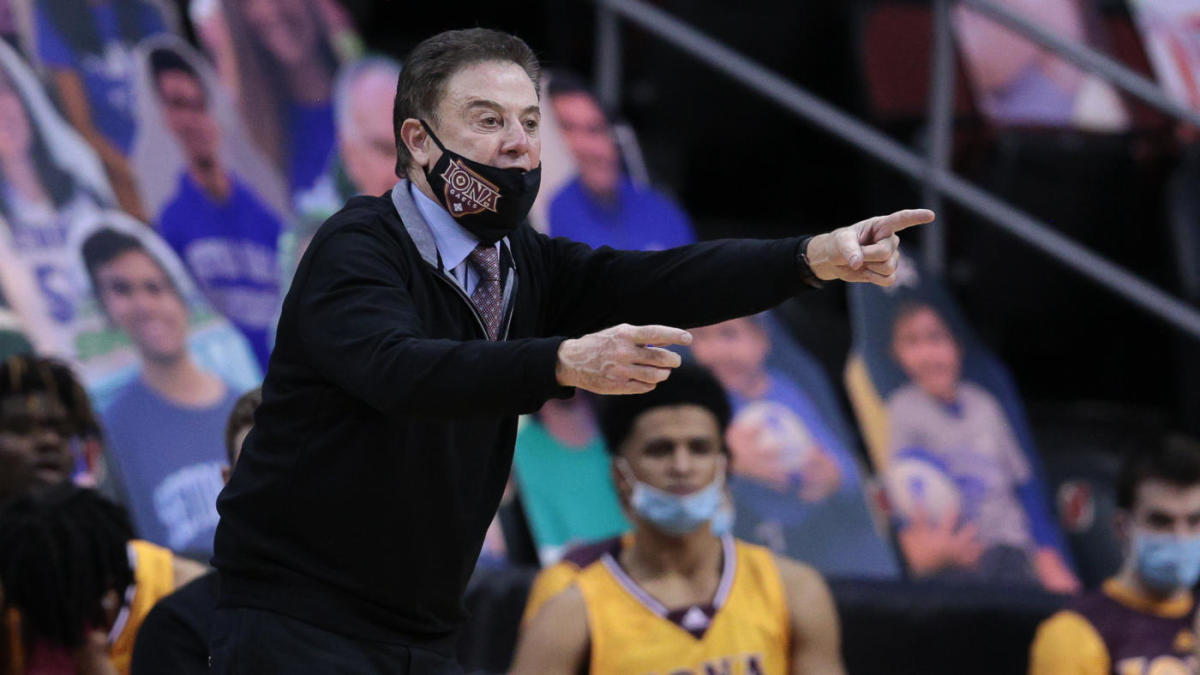 Iona coach Rick Pitino says he tested positive for COVID-19 after first vaccine shot and has since recovered