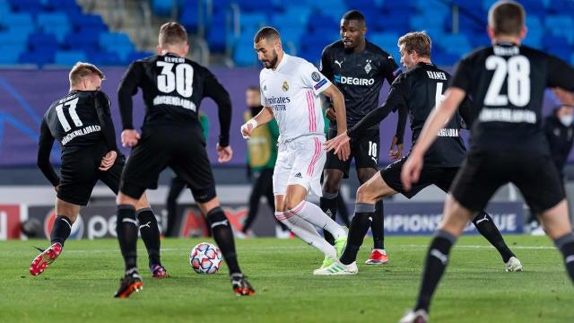 UEFA Champions League round of 16 qualified teams: Real Madrid, Borussia  Monchengladbach, Atalanta sneak in - CBSSports.com