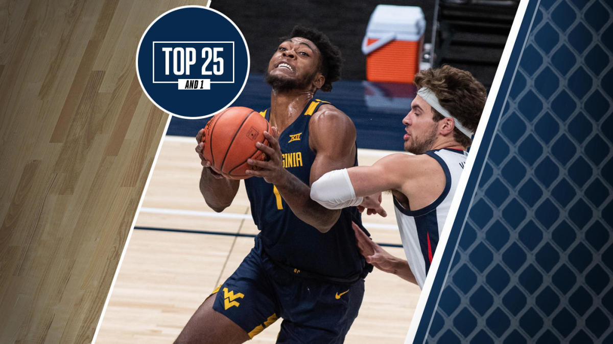 College basketball rankings: Improved shooting has West Virginia No. 9 in the updated Top 25 And 1
