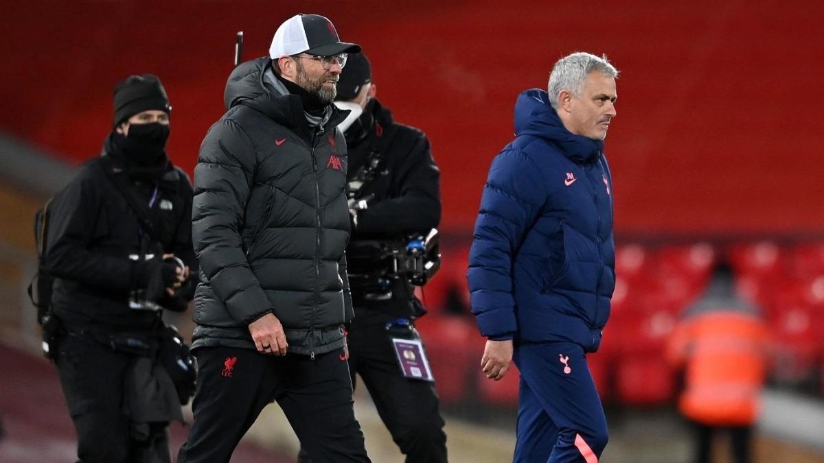 Jose Mourinho tells Jurgen Klopp 'the best team lost' in postgame exchange  after Spurs loss against Liverpool - CBSSports.com