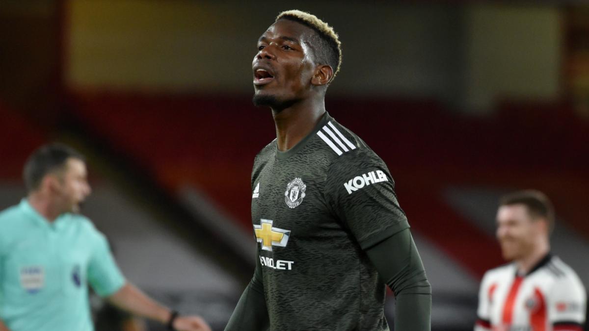 Manchester United vs. Sheffield United score: Paul Pogba and Marcus  Rashford shine in comeback win - CBSSports.com