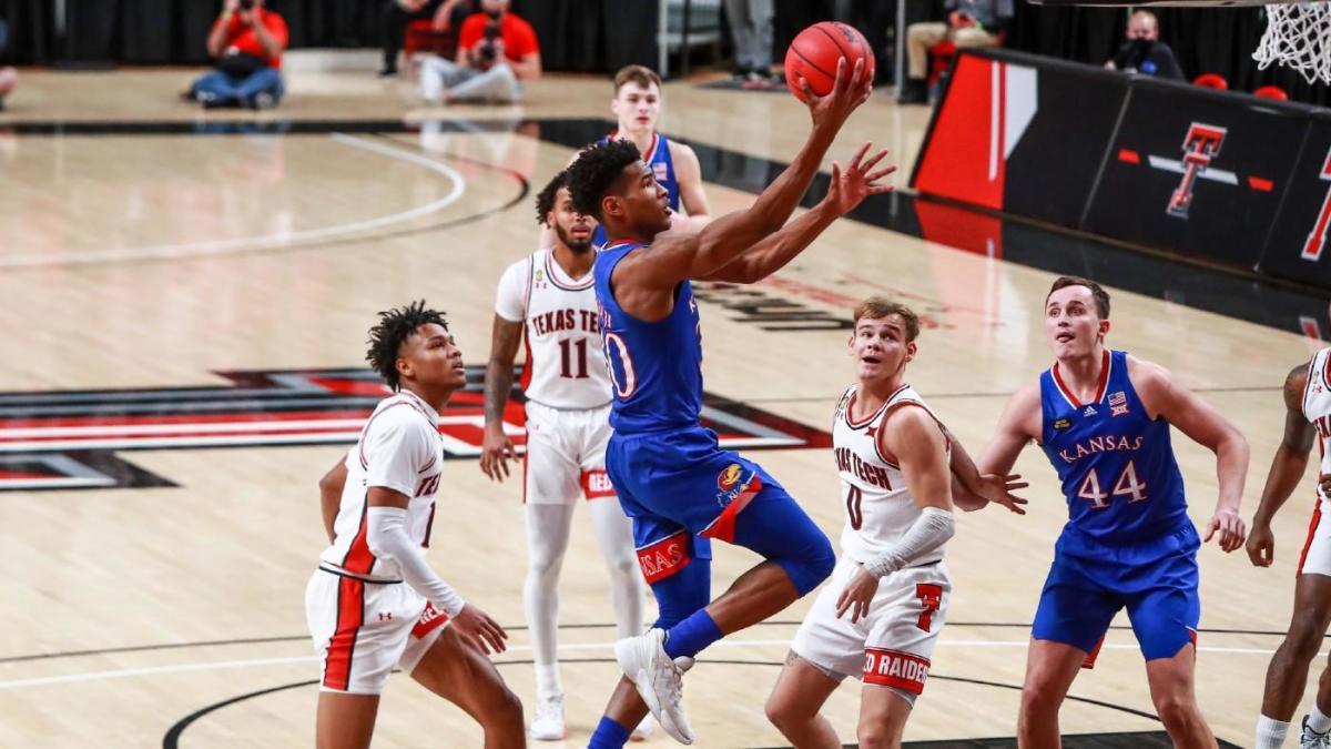 Ku Basketball Vs Texas Tech / Ncaa Men S Basketball Kansas