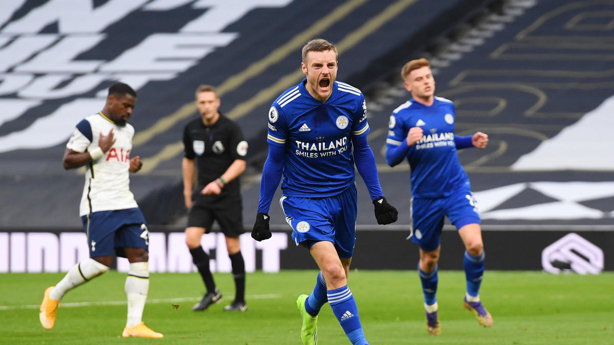 Tottenham Vs Leicester City Score Jamie Vardy Inspires Foxes As They Claim Second Place In Premier League Cbssports Com