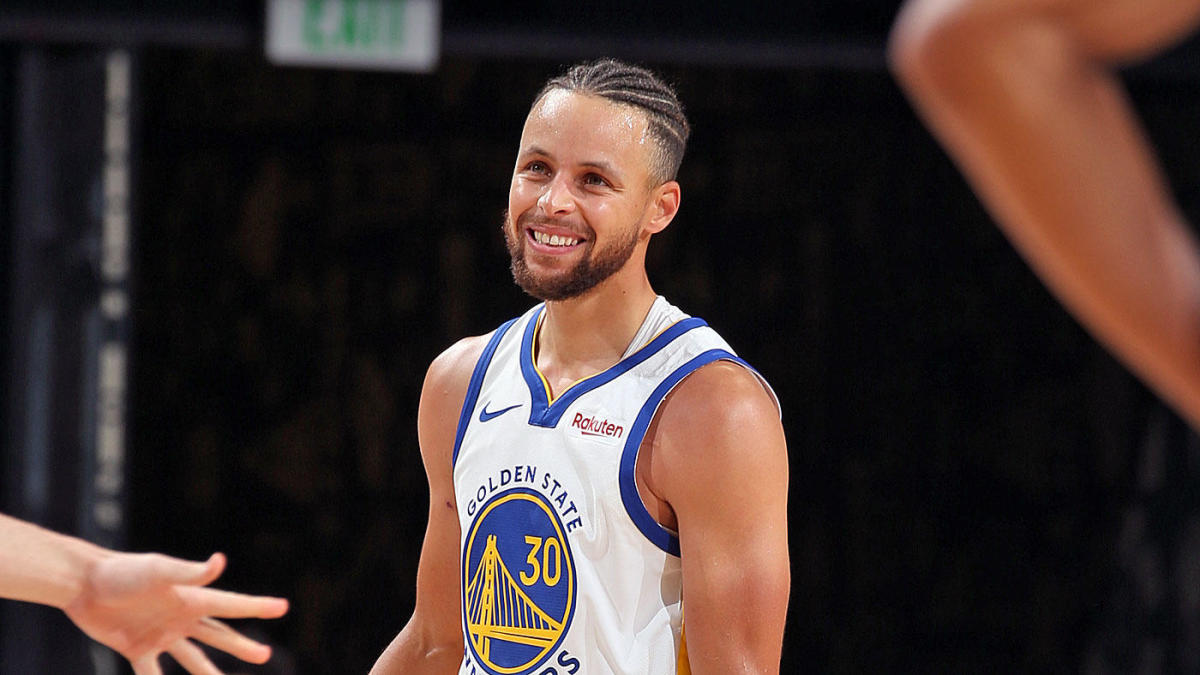 Watch Stephen Curry Has Hilarious Reaction To Reporter Calling Him Wardell Cbssports Com