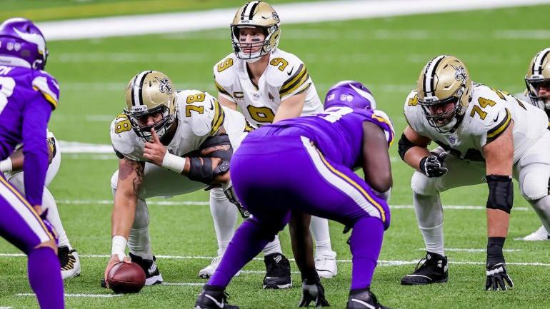 NFL: Vikings in Saints on December 25