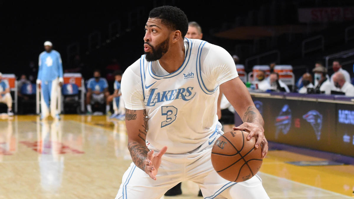 Anthony Davis injury update: Lakers star out Sunday vs. Wolves with calf contusion