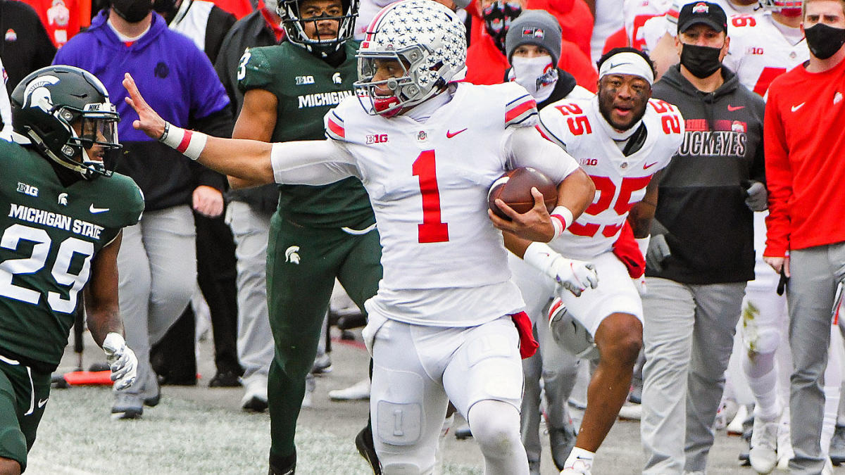 Justin Fields' health leads mysteries facing Ohio State entering national championship 2021