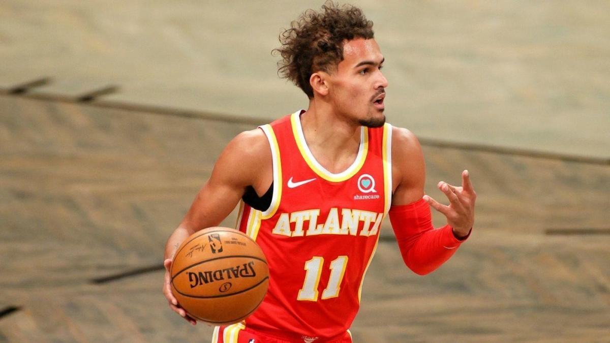 Trae Young has mastered the art of the short stop, yet another trick in the bag of a basketball magician - CBSSports.com