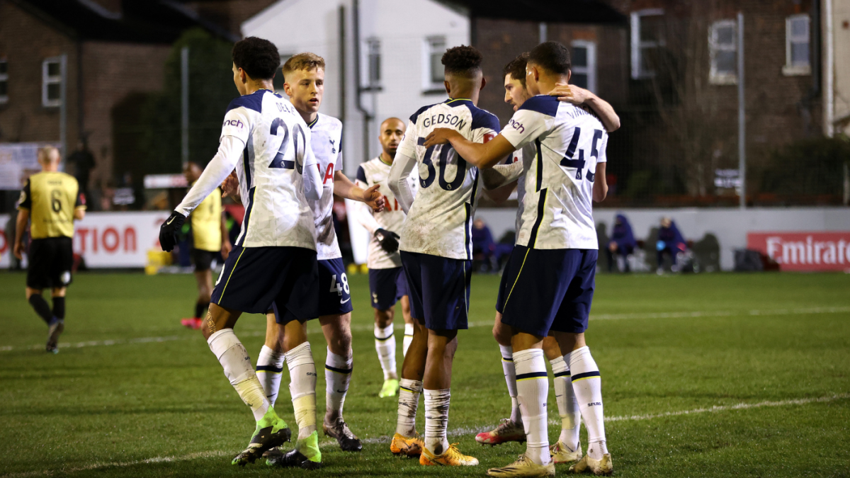 Marine Vs Tottenham Score Spurs Take Care Of Fa Cup Business At Eighth Tier Side As Vinicius Nets Hat Trick Cbssports Com