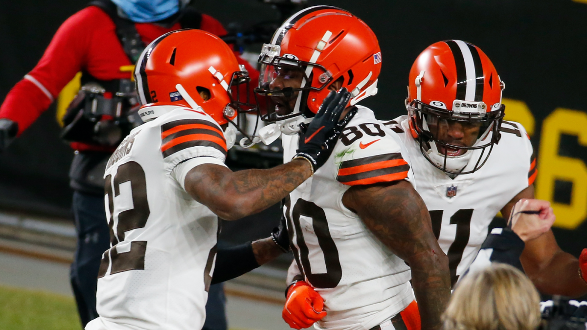 Browns set NFL postseason record for first quarter points scored in wild-card game vs. Steelers – CBS Sports