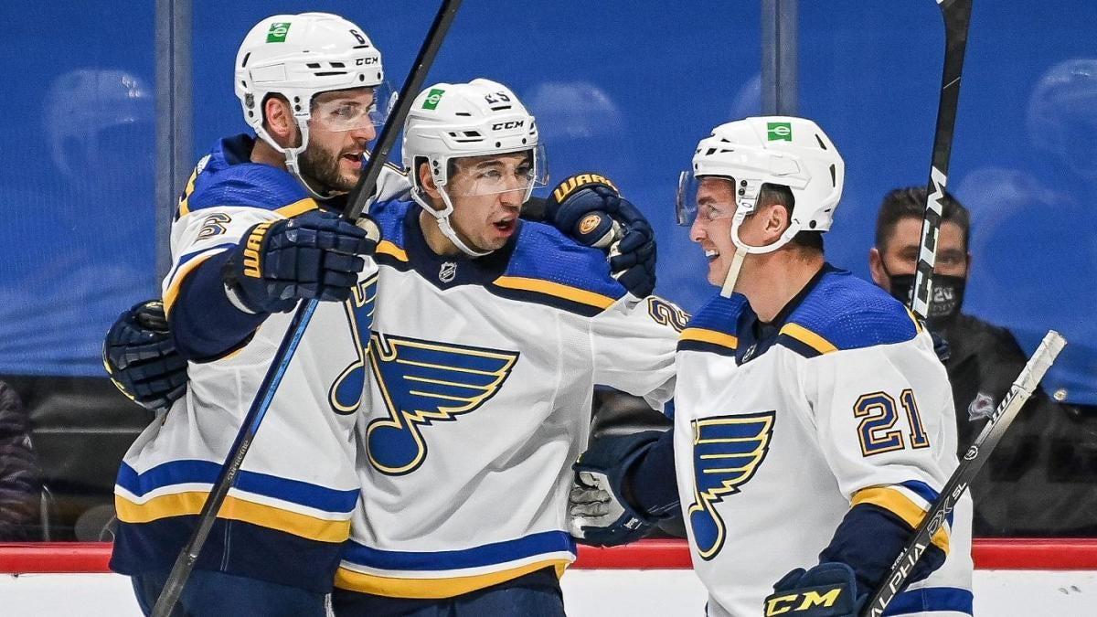 2021 NHL Opening Night: Blues Maple Leafs Canucks Lightning Flyers collect wins to start season – CBSSports.com