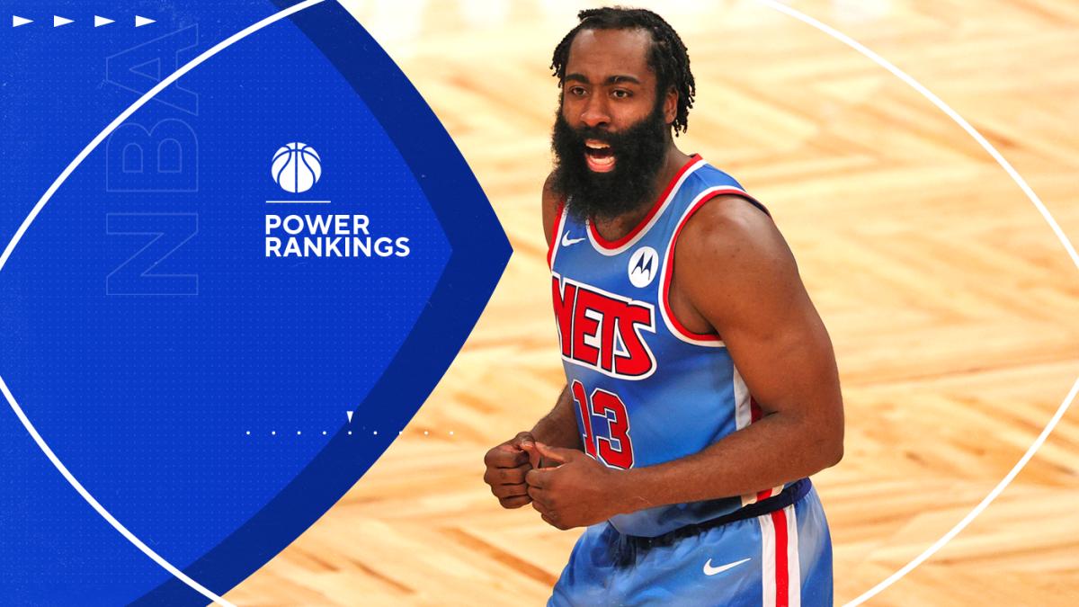 NBA Power Rankings: James Harden fuels Nets' big jump, but Lakers look unbeatable; struggling Heat plummet - CBS Sports