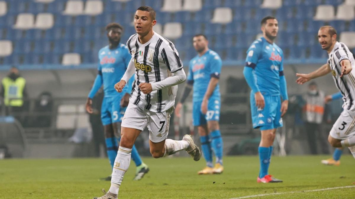 Juventus Vs Napoli Score Ronaldo Nets Winner In Supercoppa Italiana As Mckennie Gets First Trophy Cbssports Com