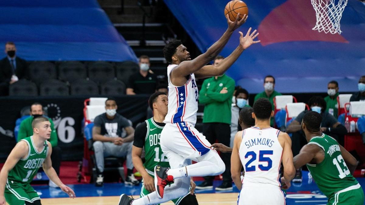 Celtics vs. 76ers takeaways:  Joel Embiid continues to build early MVP case with dominant 42-point performance thumbnail