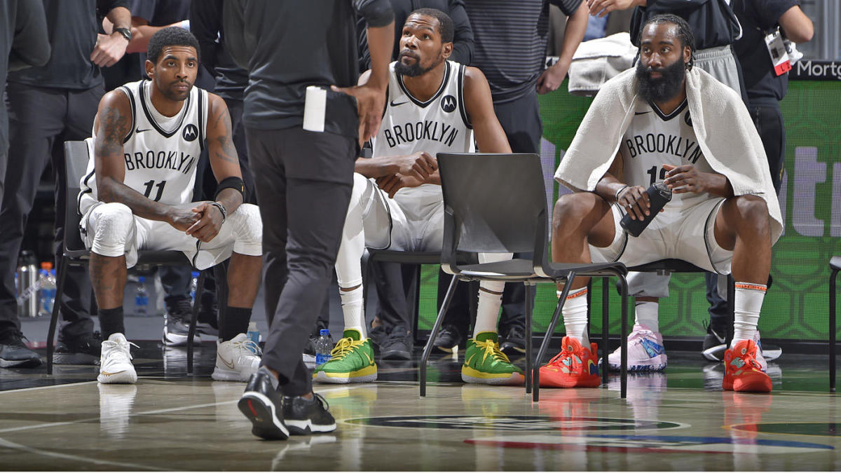 Nets' Big Three of Kyrie Irving Kevin Durant and James Harden are only starting to reveal themselves – CBS Sports