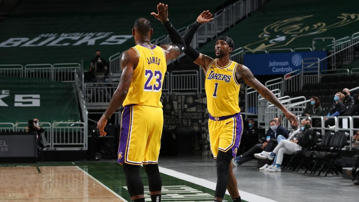 Lakers vs. Bucks takeaways: LeBron James Kentavious Caldwell-Pope have scorching shooting nights in L.A. win – CBSSports.com