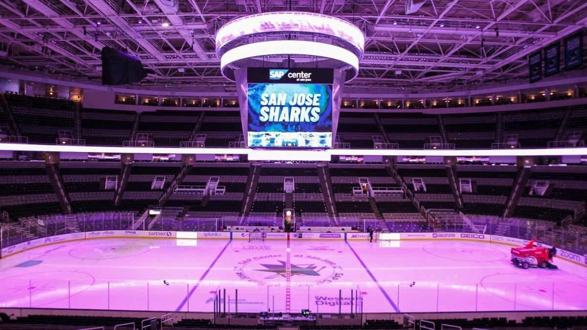 San Jose Sharks to play two home games in Arizona due to Santa Clara County's contact sports ban