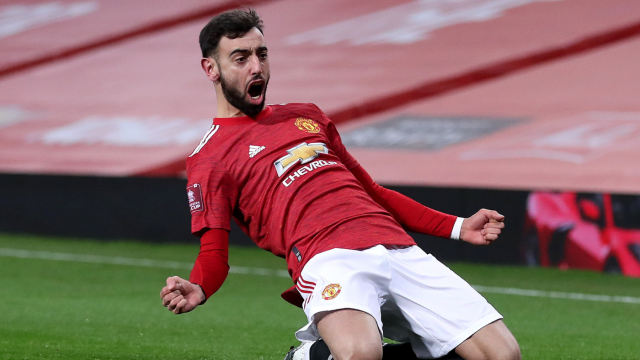 Manchester United Vs Liverpool Score Bruno Fernandes Propels Red Devils Into Fa Cup Fifth Round Cbssports Com