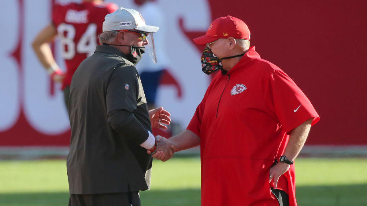 Andy Reid vs. Bruce Arians will be an offensive matchup for the ages