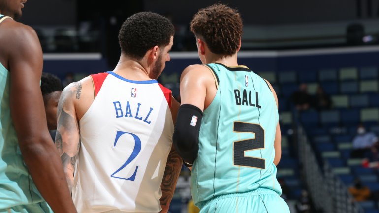 LaMelo and Lonzo Ball are catching fire of late, and they both hit high notes on Friday night