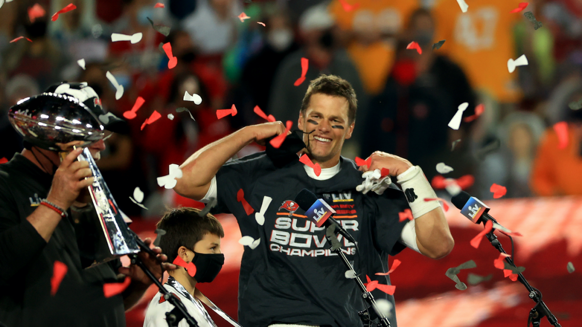 <p>Super Bowl 2021: Tom Brady States'we'll be back' for Buccaneers' title Protection thumbnail