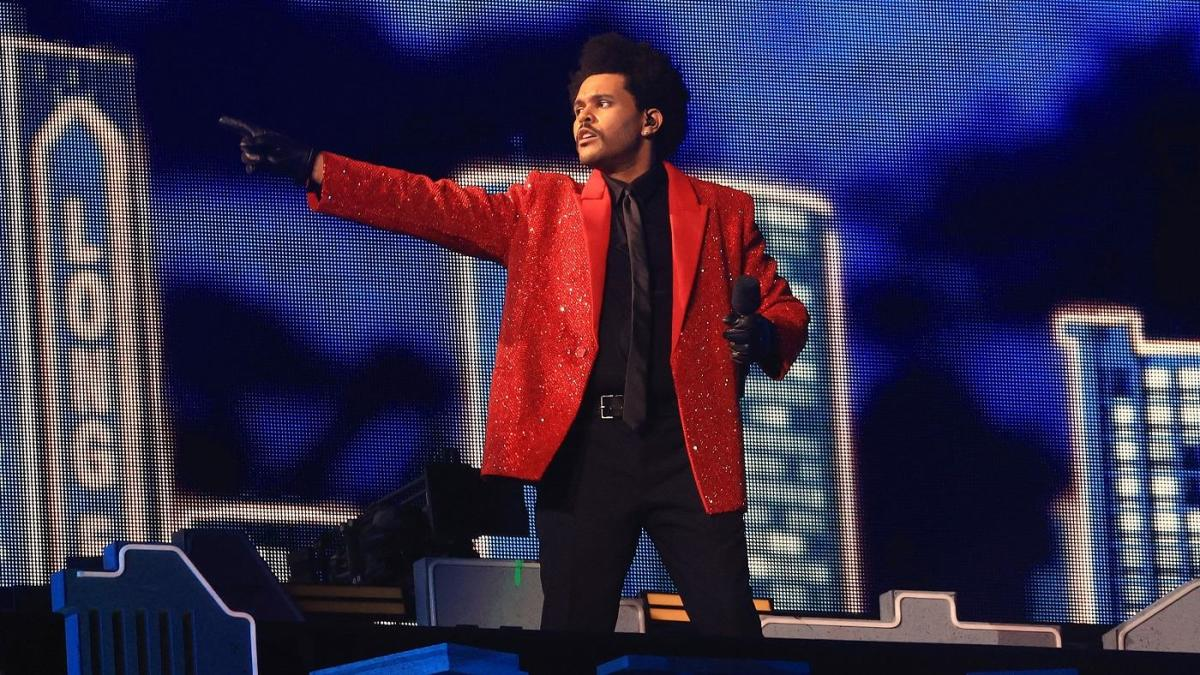 Super Bowl halftime show 2021: The Weeknd's full song list, recap and complete video of the performance - CBS Sports