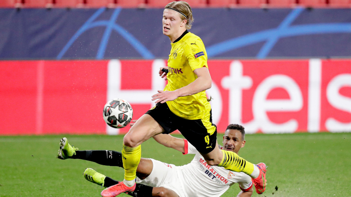 Sevilla-Borussia Dortmund Champions League player ratings: Spanish side's defense crumbles against Haaland - CBS Sports