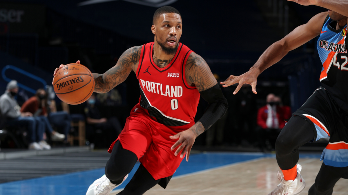 Damian Lillard's MVP case becoming impossible to ignore after another heroic performance in OKC - CBS Sports